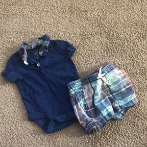 Baby Gap 0-3 month outfit